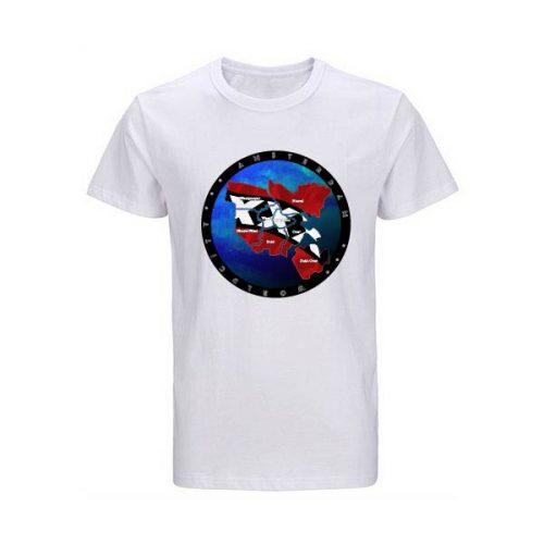 Amsterdam t-shirt-wit ideale wereld